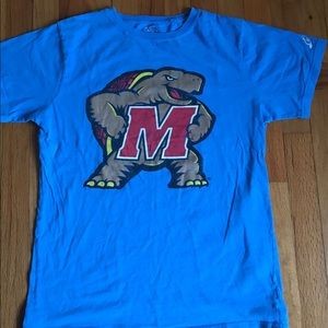 Vintage University of Maryland Terrapins T Shirt